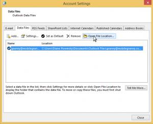 Click Open File Location