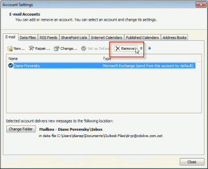 Configure Address books in Outlook 2010