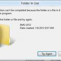 Can't Rename Windows Folder: Folder in Use Error