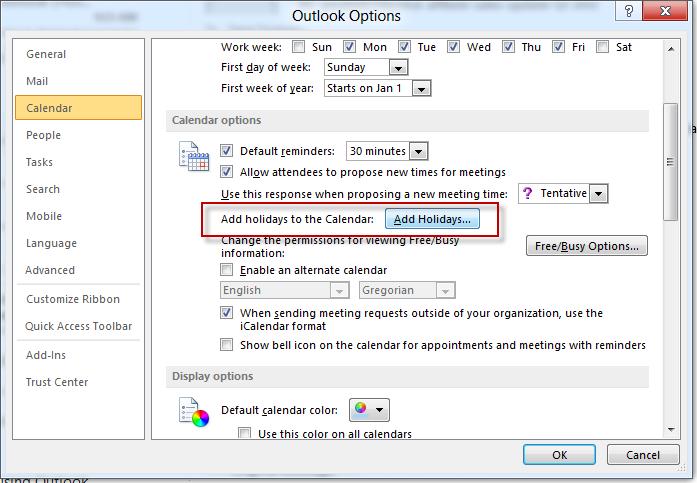 windows 10 how to stop calander birthday notifications