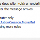 Move messages CC&#039;d to an address