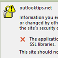 SSL Security Alert on Office 365 Accounts (Fixed)