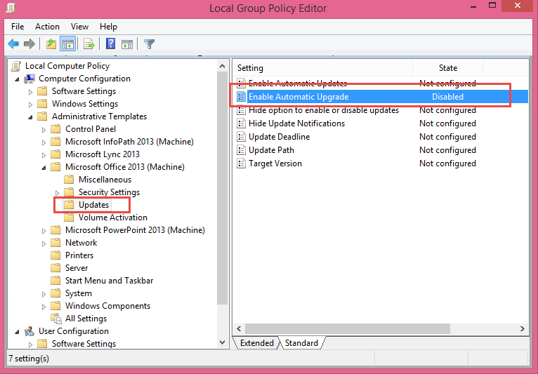 Office Group Policy Templates Outlook 2016 Exchange 2007 Not Supported