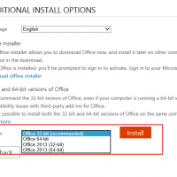 Downgrade Office 2016 to Office 2013
