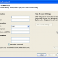 Manually create a POP3 account in Outlook 2007
