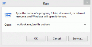 Use the run command
