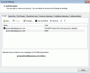 A POP3 and Hotmail Connector account for same email address