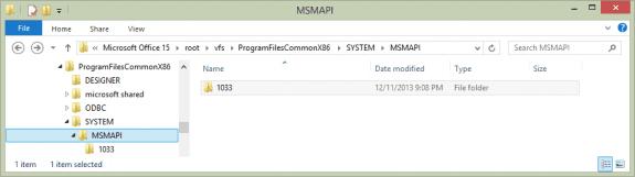 msmapi-folder