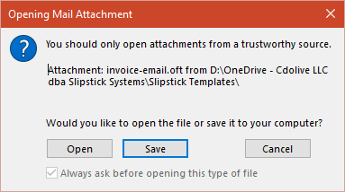 Open or Save dialog