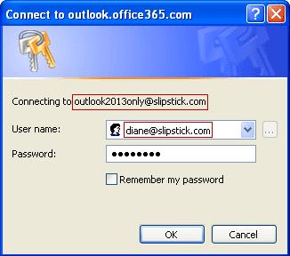 log into a managed mailbox