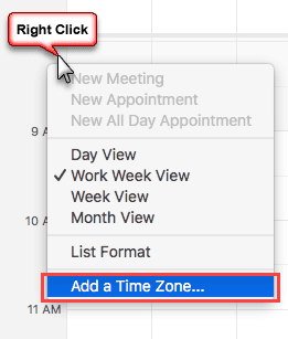 right click on the time scale to add a second time zone